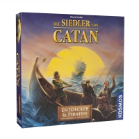 Settlers of Catan - Expansion - explorers and pirates