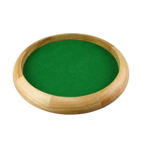 Würfelteller - 29 cm - aus Holz