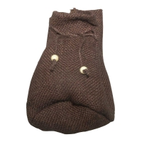 Jute fabric bags - ca. 17 x 10 cm - brown