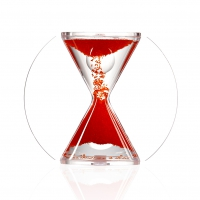 Hourglass - SOUL - red - 4 minutes