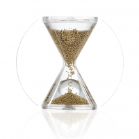 Hourglass - OPERA - gold - 3 minutes