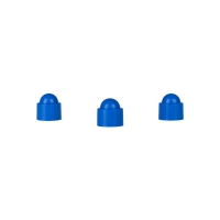 Playing piece Tower - stackable movers - blue - plastic - 12 x 13 mm