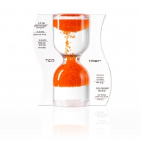 Sanduhr TEA timer - orange - 5 Minuten