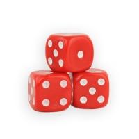 Würfel - dice - rot