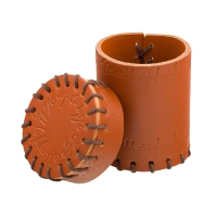 Elven Leather Cup - brown