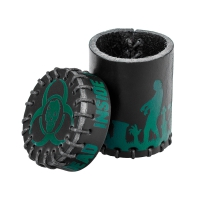 Zombie Leather Cup - black-green