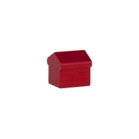 Monopoly Hotel - 15x15x15mm - rot