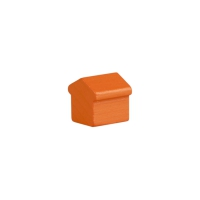 Monopoly Hotel - 15x15x15mm - orange