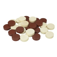 Backgammon stones - substitute or replacement kit - 23 mm