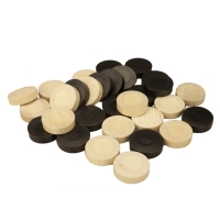 Backgammon stones - substitute or replacement kit - 31 mm