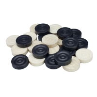 Draughts and Nine Mens Morris pieces - substitute or replacement kit - 23 mm