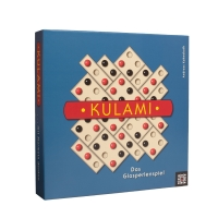 Kulami - conquer with glass marbles on a variable playing field