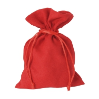 Velvet fabric bags - large -  ca. 175 x 120 mm - long - velvet fabric