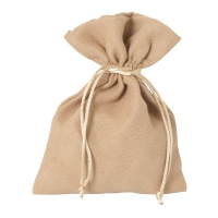 Velvet fabric bags - large -  ca. 175 x 130 mm - long - velvet fabric
