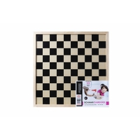 Checkers- and Chessboard