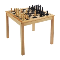 Chess table - height 67 cm