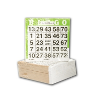 Lotto sheets 1-75 - 500 pieces