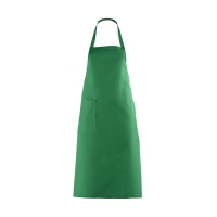 Bib Apron with large Pocket - gardener green - 100 cm