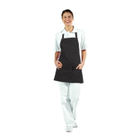Pocket Apron - 3 Pockets - black - 65 cm