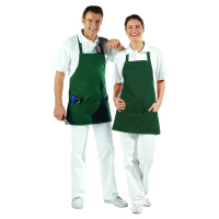 Pocket Apron - 3 Pockets - bottlegreen - 65 cm