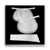 Serving Apron - white - 26 cm