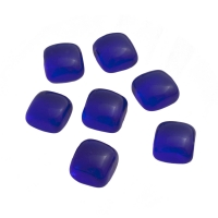 Game piece made from glass - dark blue - ca. 18 mm