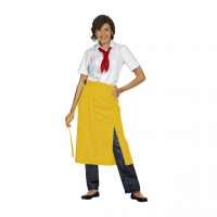 Bistro Apron Exclusive - yellow - 125x80 cm