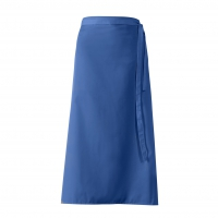 Bistro-Half Apron - royal blue - 100x100 cm