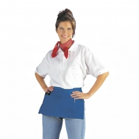 Pocket Apron - royal blue - 50x27 cm