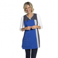 Chasuble - Throw Apron - royal blue-grey - 100 cm