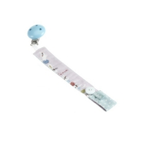 Nabebi - pacifier blue ribbon - 21 cm