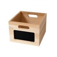 Small shop Accessories - Wooden Box - 26 x 29 x 19 cm