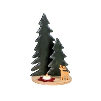 Landscape Trees - Christmas decoration - Height 34 cm