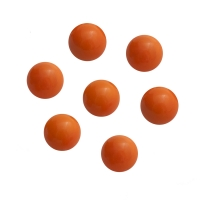 Game piece - spheres made of glass - orange - ca. 16 mm