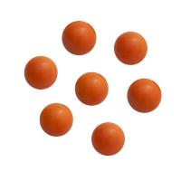 Murmeln - Kugeln aus Glas - orange - ca. 16 mm