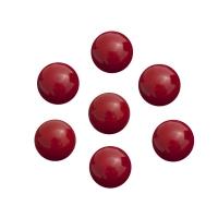 Murmeln - Kugeln aus Glas - rot - ca. 16 mm