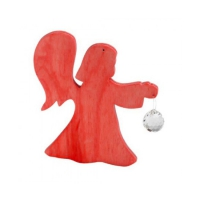 Crystal Angel - Red - 13cm