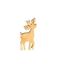 Reindeer small - oiled - Height 16,5 cm