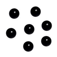 Murmeln - Kugeln aus Glas - schwarz - ca. 16 mm