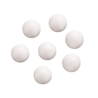 Game piece - spheres made of glass - white - ca. 16 mm