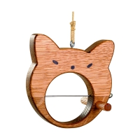 Birdhouse - Cat - solid wood