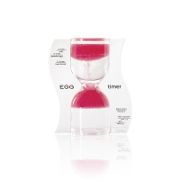 Hourglass - EGG timer - pink - 10 minutes