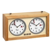 Chess Clock - Analog - wood housing