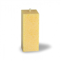 Crystal Candle - Candles Colour Yellow