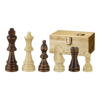 Chess figures - Remus - wooden - Staunton - king size 89mm