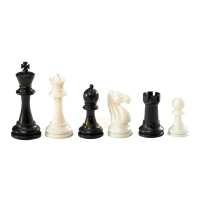 Chess figures - Nerva - plastic - Staunton - king size 95 mm