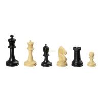 Schachfiguren - Nerva - Kunststoff - Staunton - Königshöhe 83 mm