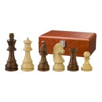 Chess figures - Titus - wooden - Staunton - king size 83 mm