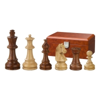 Chess figures - Sigismund - wooden - Staunton - king size 76 mm