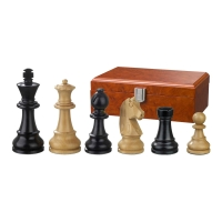 Chess figures - Ludwig XIV - wooden - Staunton - king size 95 mm